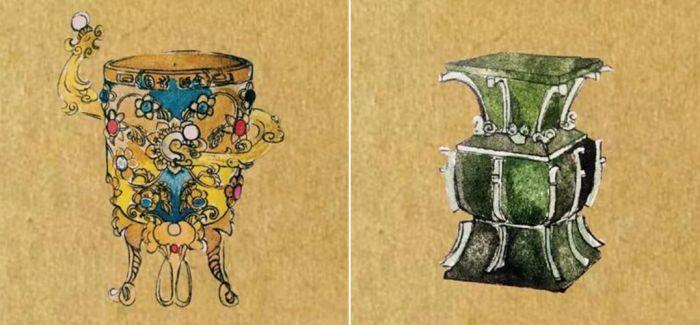 漫画故宫博物院里的高冷文物