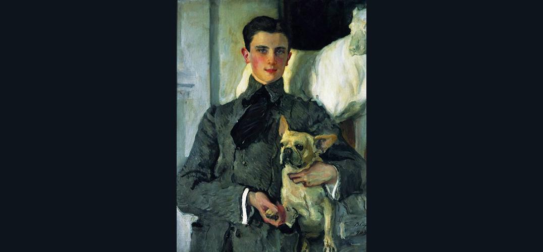 《费利克斯·尤苏波夫肖像》背后的故事