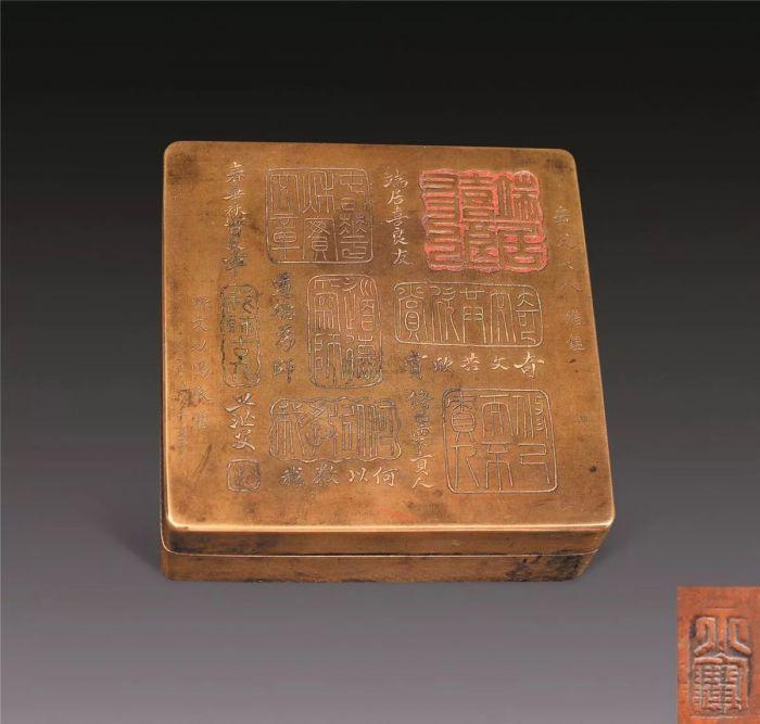 记录时光的铜墨盒