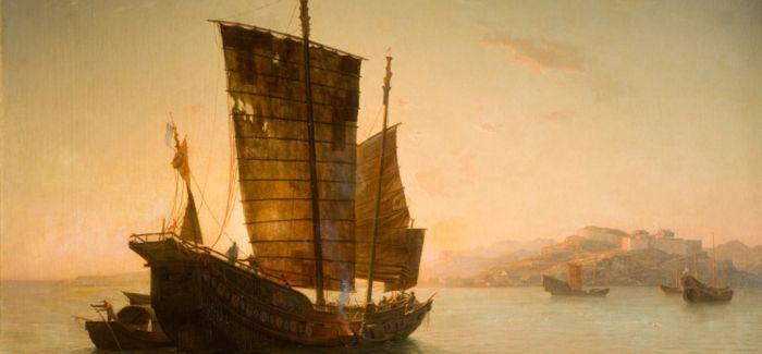 150多年前的法国油画 展示海上丝绸之路重要港口