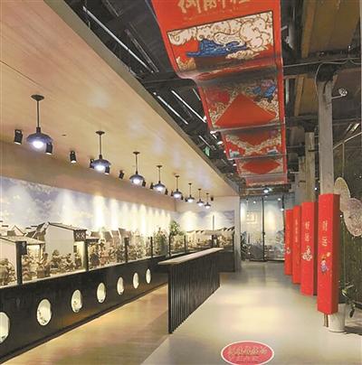 """杭州工艺美术博物馆里的""""跨年盛宴"""""""