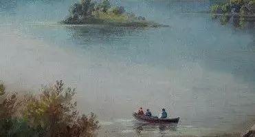 西子湖畔 水彩流转