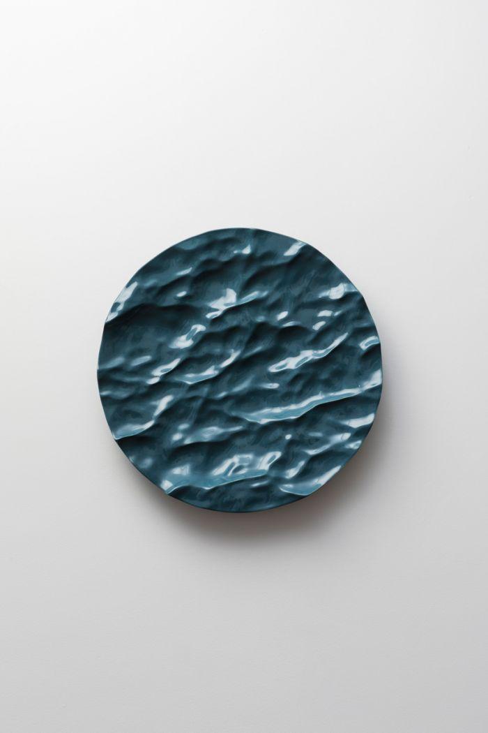 艺术家用50种色调来定义大海