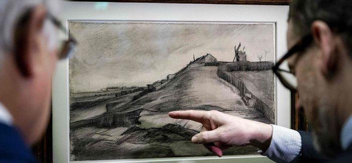 梵高尘封百年素描作品亮相阿姆斯特丹
