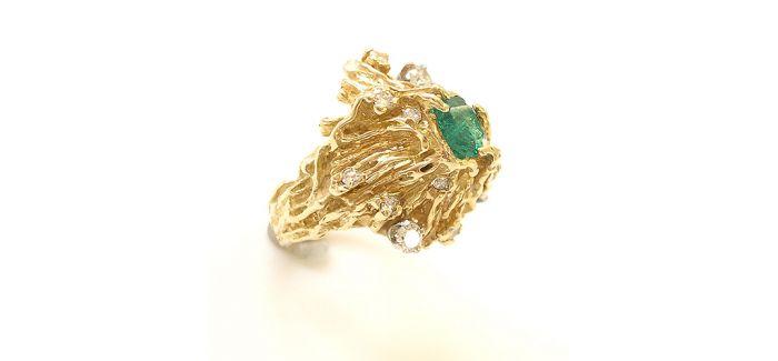 黄金戒指的款式 你见过几个?