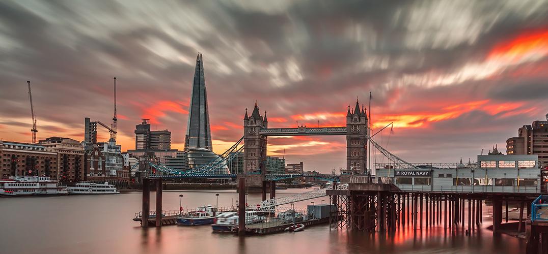 伦敦文青的一天