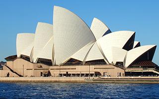 悉尼歌剧院里的除夕之夜