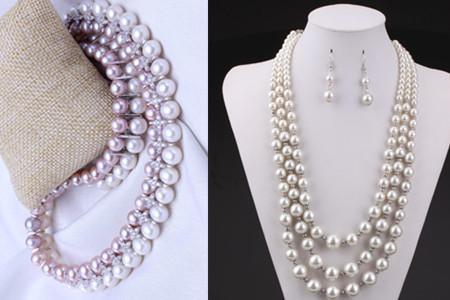 你的珍珠项链变黄了吗?变得凹凸不平了吗?教你几招辨别真假!