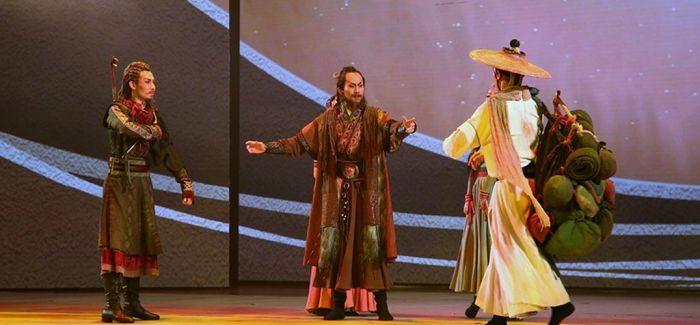 """民族舞剧《驼道》""""舞""""出中西商贸繁荣"""