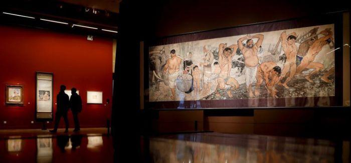 徐悲鸿大型美术主题创作展 领衔中国美术馆新年展