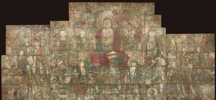 1600大洋贱卖的元代壁画 成为美博物馆镇馆之宝