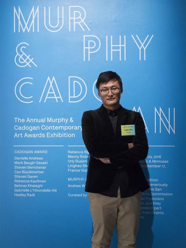 艺术家获得2016 MURPHY AWARD 墨菲提名奖,该奖项由由旧金山雕塑家Gertrude Murphy 设立,颁发给在加州范围内具有探索精神的年轻艺术家。