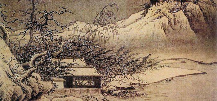 从画中看古人如何赏雪