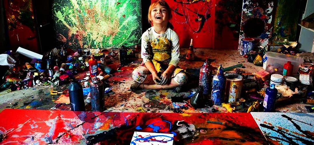浸润在艺术中的心灵世界