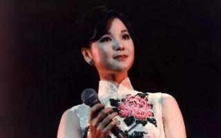 中式古典之美:邓丽君的旗袍情缘