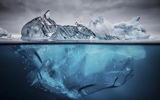 定格南极的瞬间