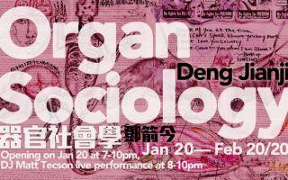 邓箭今加拿大首展《器官社会学》于温哥华融空间开幕