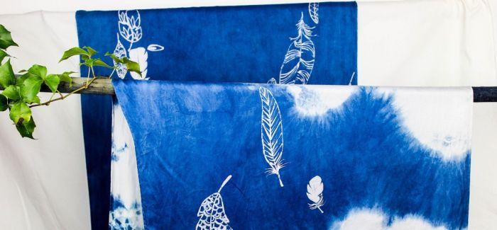 56民族文化|手工制作蜡染纯棉方巾