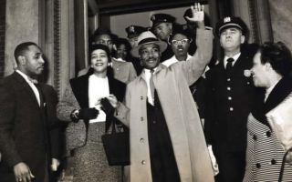45张黑白摄影连接马丁·路德·金和纽约