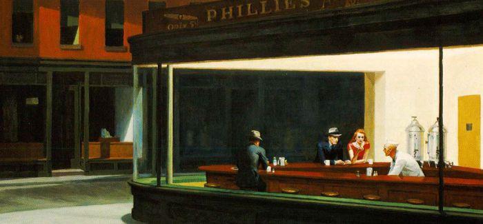 爱德华·霍珀:那份深埋在画作中的孤独