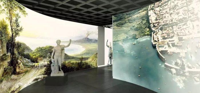 庞贝古城出土文物展在金沙遗址博物馆开幕