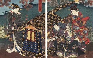 歌川派 江户时代浮世绘界最大派系