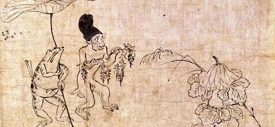 很久以前 葛饰北斋的青蛙就已经去过许多地方旅行了