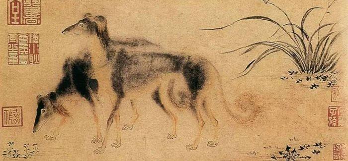 """""""吸狗""""也中国古代皇家的乐趣"""