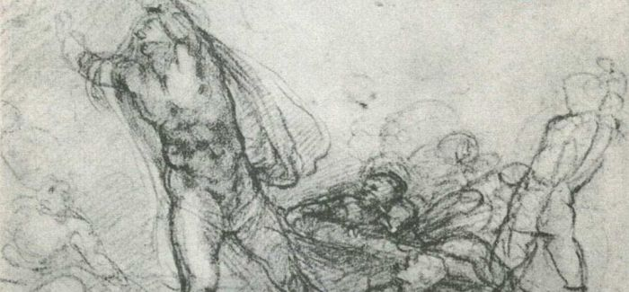 素描是米开朗基罗开启艺术创作的第一媒介