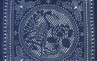 56民族文化|新年体验手工蜡染纯棉方巾