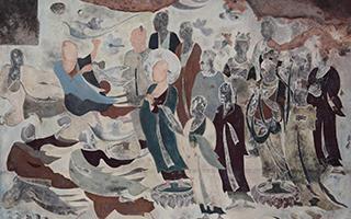 """与龟兹古国壁画展开一场""""文明的对话"""""""
