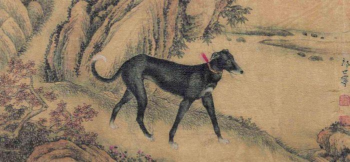 画家郎世宁的《十骏犬图》