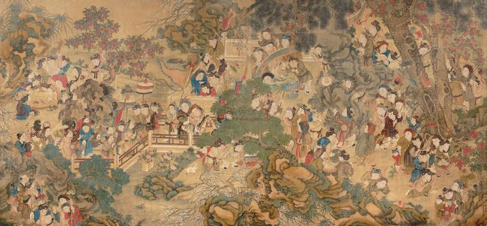 在台北故宫赏览古代浓厚的年节欢庆兴味