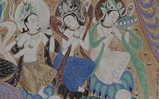 敦煌壁画在水城