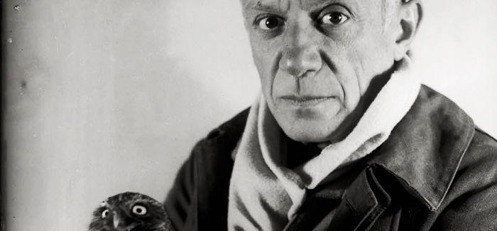 几经修改的毕加索作品《蜷坐的乞丐》