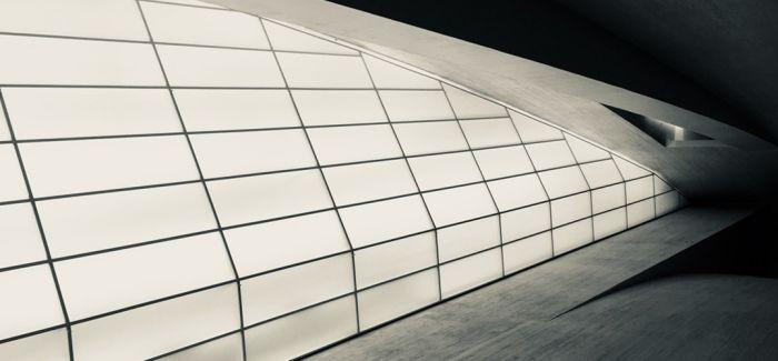 建筑中的简洁线条