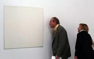 他的一张空白油画卖了1.2亿!