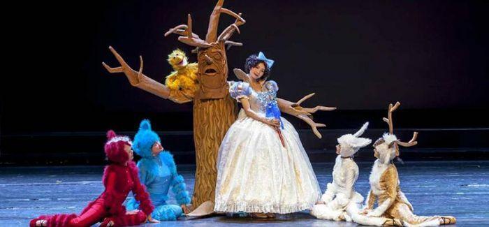 梦幻森林里的《白雪公主》