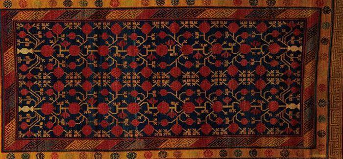 90件流失海外的古艺毯 归国