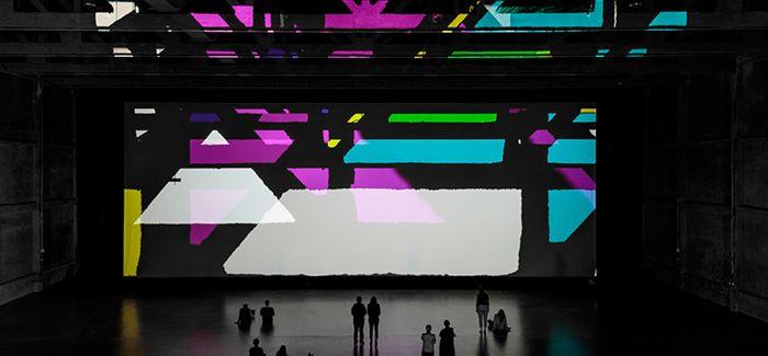 复杂的动态影子艺术