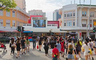 在新加坡开启购物模式!