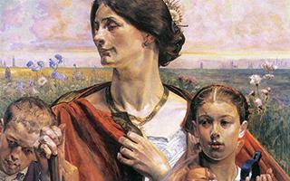 具有象征主义的波兰绘画作品
