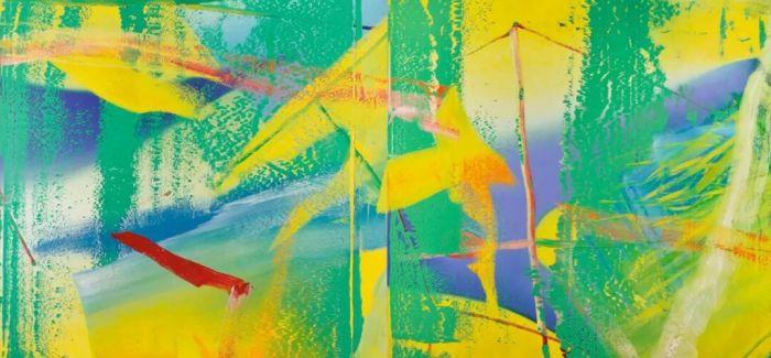 伦敦当代艺术晚拍吹来哈德·里希特的《风》