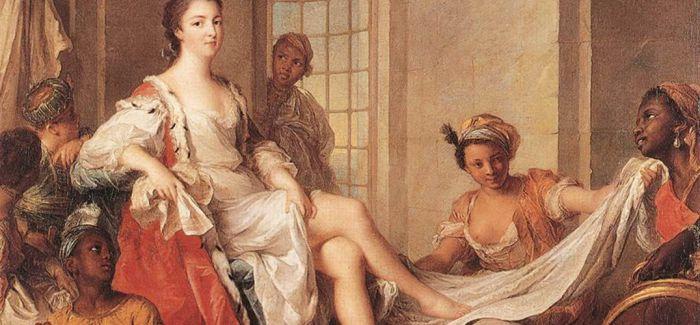 法国洛可可风格派宫廷画家让-马克·纳蒂埃