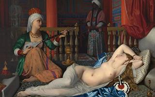 他以描绘柔美淡雅的妇女生活为时尚