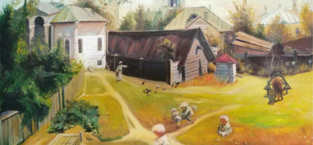 时光和泥|油画体验 在春日里画一幅画
