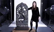 黑石屠牛魔形难近母像上拍纽约亚洲艺术周