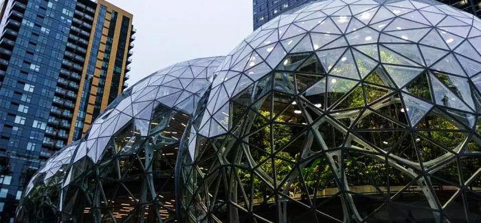 7年250亿!亚马逊在办公楼里盖了座热带雨林
