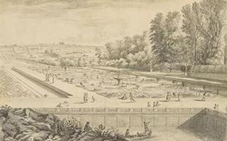 卢浮宫展出伊斯雷尔·西尔维斯特雷素描作品