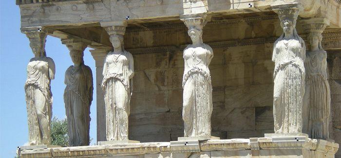 """2500年前古希腊""""着色复原"""" 穿越而来"""